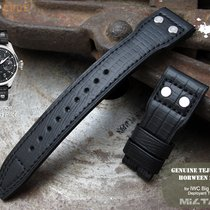 IWC MiLTAT IWC Big Pilot Replacement Band, Black Lizard