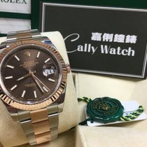Rolex Cally - 2017 New Model DATEJUST II126331 Brown Stick [NEW]