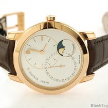 Harry Winston Midnight Date Moon Phase Automatic 18k Rose Gold