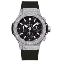 Hublot Big Bang  44mm Automatic Stainless Steel Mens Watch Ref...