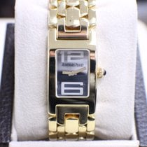 Audemars Piguet Promesse 18K Yellow Gold Ladies Blue Cabochon ...
