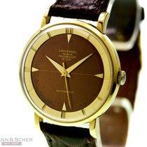 Universal Genève Vintage Polerouter De Luxe Ref-10234-3 18k...