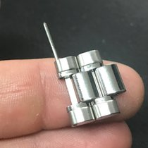 Omega Doppia double Maglia link steel acciaio speedmaster reduced