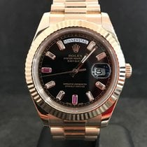 Rolex Day-Date II / Ruby Dial Aftermarket