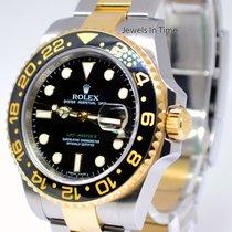 Rolex GMT-Master II 18k Gold Steel & Ceramic Mens Watch...