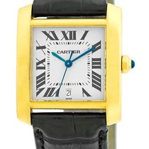 """Cartier """"Tank Francaise"""" Automatic Strapwatch."""