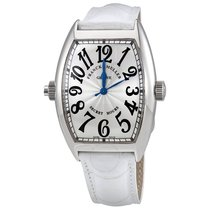 Franck Muller Curvex Secret Hour Silver Dial Automatic Watch