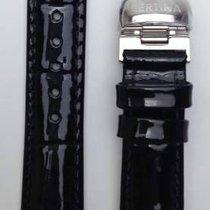 Certina DS 1 Lady Lederband mit Faltschliesse Schwarz 16/14mm...