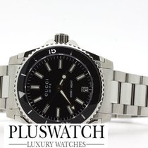 Gucci Dive Black Dial YA136403 T