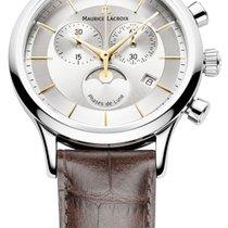 Maurice Lacroix Les Classique Phase De Lune Quartz Chronograph...