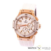 Hublot Big Bang Portocervo Rosegold Factory Diamonds Chronograph