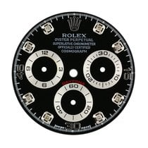 Rolex Daytona Black/Diamond Hour Markers Custom Dial