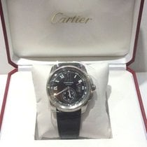 Cartier Stainless Steel Calibre with Box and Paper