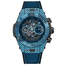 恒寶 (Hublot) UNICO ITALIA INDEPENDENT BLUE CAMO 411.YL.5190.NR....