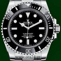 Ρολεξ (Rolex) Submariner 114060 NoDate Ceramic Box&Papers