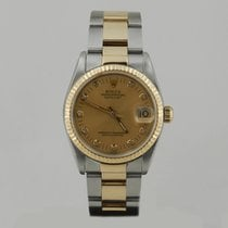 Rolex DATE JUST STEEL & GOLD MEDiUM SiZE WiTH PAPERS 31mm