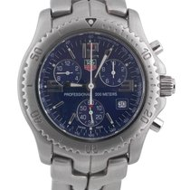 TAG Heuer Chronograph Stainless Steel Blue Dial