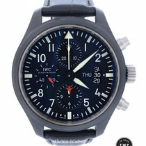 IWC Pilot Chronograph Top Gun Ceramic/Titanium  Full Set