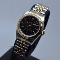 Ρολεξ (Rolex) Oyster Perpetual Lady Fluted New Black Dial ...