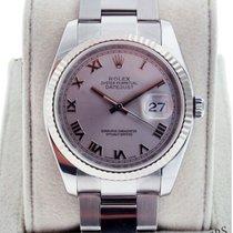 ロレックス (Rolex) Datejust 116234 Men's Rhodium Dial Watch