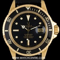 Rolex 18k Y/G Rare Omani Crest Submariner Date B&P 1680
