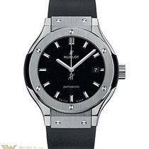 Hublot Classic Fusion 33mm Titanium Automatic Watch