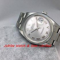 勞力士 (Rolex) Rolex 16200 Datejust Silver Roman Dial Steel 36mm