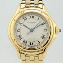 Cartier Montres Cougar Quartz Gold 887906 Lady