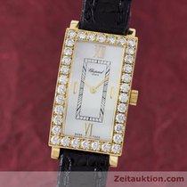 Chopard Lady 18k (0,750) Gelb Gold Damenuhr Diamanten 13/6973