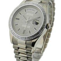 롤렉스 (Rolex) Used 218399BR Day Date II President in White Gold...