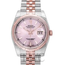 롤렉스 (Rolex) Datejust Gold/Steel Pink/18k rose gold Ø36 mm -...