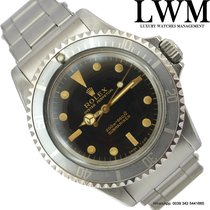Rolex Submariner 5513 meter/feet gilt glossy dial bezel ghost...