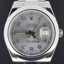 Rolex Datejust II Steel, Arabic Dial 41MM Full Set 2016