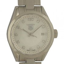 TAG Heuer Carrera Lady Diamond Perlmutt Stahl Quarz 27mm