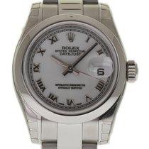 Rolex Datejust 179160 26mm Steel Automatic White 2007 Box/Pape...