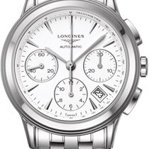 Longines Flagship Automatic Chronograph L4.803.4.12.6