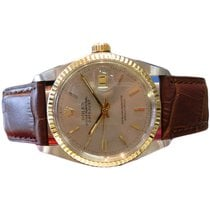 Rolex Oyster Perpetual Datejust Watch Two Tone Stainless Steel...