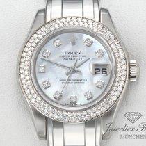 Rolex Datejust Pearlmaster 80339 Weissgold 750 Diamanten Date...