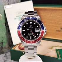 Rolex GMT-Master 16700 Pepsi / 1995 / Unpolished / Box and Papers