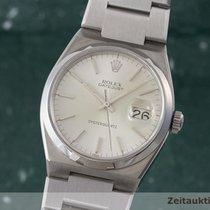 Rolex Oysterquartz Datejust Herrenuhr Edelstahl Ref. 17000
