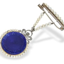 Chaumet Pendant watch/brooch watch: exquisite Art Nouveau...