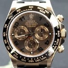 Rolex Daytona Pink Gold leather strap, choco dial
