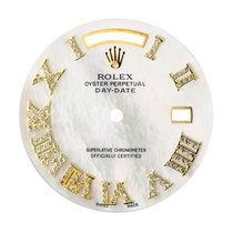 Rolex Day-Date 41mm Mother of Pearl/Diamond Numerals Custom Dial