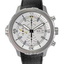 IWC Aquatimer Chronogarph White Steel/Leather 44mm - IW376801