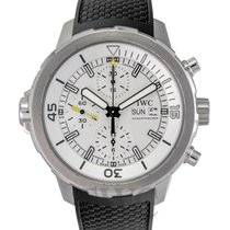 IWC Aquatimer Chronogarph White Steel/Leather 44mm - IW376801