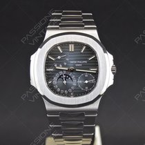 Patek Philippe Nautilus NEW 2017  steel power reserve moon...