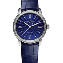 Ulysse Nardin Classico Stainless Steel & Diamonds Ladies...