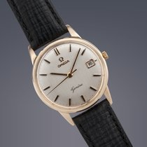 Omega Geneve 9ct gold manual watch
