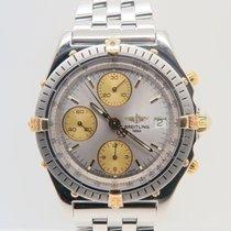 Breitling Chronomat 18k Gold Steel Chronograph 39mm