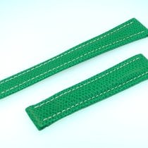 Breitling Band 18mm Green Verde Calf Strap  B18-25